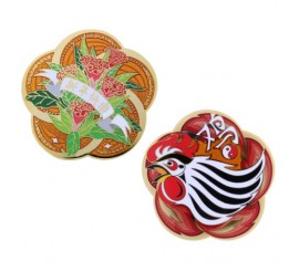 Year of the Rooster Geocoin