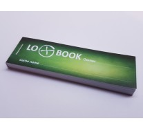 Logbook for Big PET container 30 x 95 mm