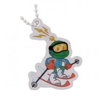 Skiing- Signal the Frog® Winter Sports Travel Tag