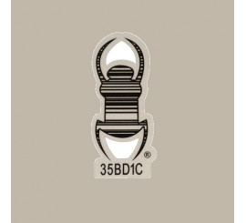 Geocaching Travel Bug® Reflective Decal 8 cm