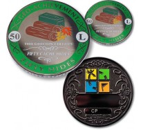 50 Hides Geo-Achievement® Award Coin Set