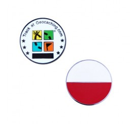 Country Micro Geocoin - Poľsko